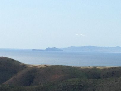 Channel Islands from the western portion of the Santa Monicas